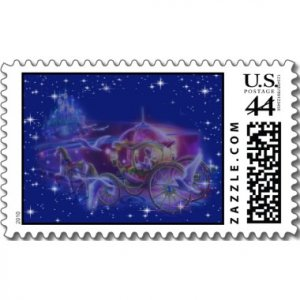 Princess Bridal Wedding Matching  POSTAGE STAMPS sheet of 20, 44 cent stamps kjsweddingshop