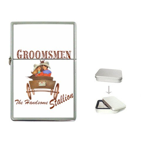 GROOMSMAN Western Lighter Wedding Party Groomsmen Gift  25237359 kjsweddingshop