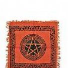 "18"" Pentacle Altar Cloth"
