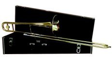 Deluxe Bb slide trombone with case