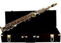 Bb soprano sax with case