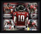 Custom Atlanta Falcons  Action Print Framed and Personalized