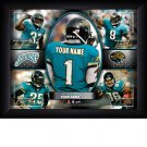 Custom Jacksonville Jaguars  Action Print Framed and Personalized