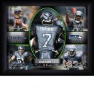 Custom Seattle Seahawks  Action Print Framed and Personalized