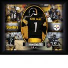 Custom Pittsburgh Steelers  Action Print Framed and Personalized