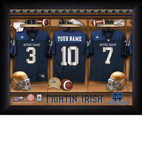 Norte Dame Fighting Irish Custom Jersey Print  With Your Name