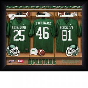 Michigan St. Spartans Custom Jersey Print With Your Name