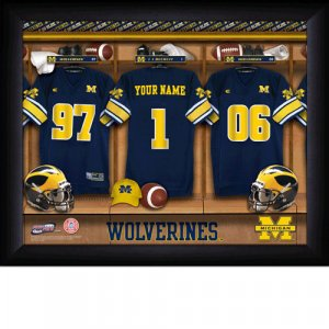 Michigan Wolverines Custom Jersey Print With Your Name