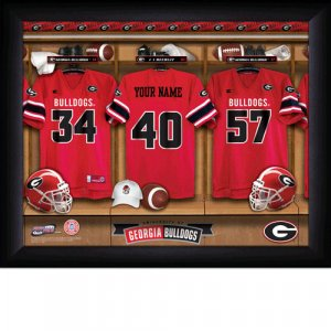 Georgia Bulldogs Custom Jersey Print With Your Name