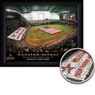 Houston Astros Stadium Print With Your Name