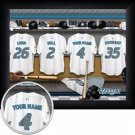 Toronto Blue Jays Framed Custom Jersey Print With Your Name