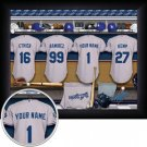 Los Angeles Dodgers Framed Custom Jersey Print With Your Name
