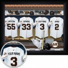 San Francisco Giants Framed Custom Jersey Print With Your Name
