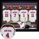 Washington Nationals Framed Custom Jersey Print With Your Name
