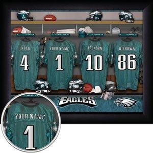 Philadelphia Eagles Framed Custom Jersey Print With Your Name