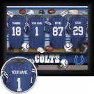 Indianapolis Colts Framed Custom Jersey Print With Your Name