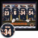Chicago Bears Framed Custom Jersey Print With Your Name