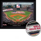 Atlanta Braves Stadium Print With Your Name
