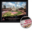 St Louis Cardinals Stadium Print With Your Name