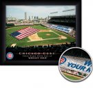 Chicago Cubs Stadium Print With Your Name