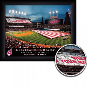 Cleveland Indians Stadium Print With Your Name