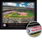 Texas Rangers Stadium Print With Your Name
