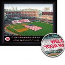 Cincinnatti Reds Stadium Print With Your Name