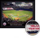 Minnesota Twins Stadium Print With Your Name