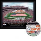 Denver Broncos Stadium Print With Your Name