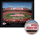 Kansas City Chiefs Stadium Print With Your Name