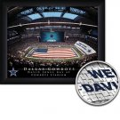 Dallas Cowboys Stadium Print With Your Name