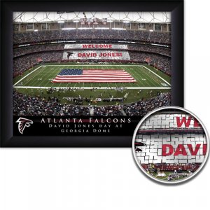 Atlanta Falcons Stadium Print With Your Name