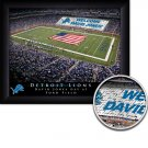 Detroit Lions Stadium Print With Your Name