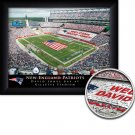 New England Patriots Stadium Print With Your Name