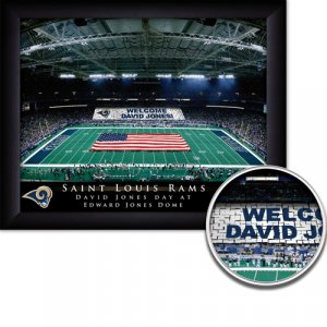 St Louis Rams Stadium Print With Your Name