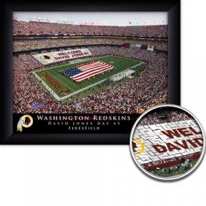 Washington Redskins Stadium Print With Your Name