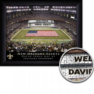 New Orleans Stadium Print With Your Name