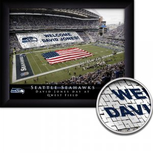 Seattle Seahawks Stadium Print With Your Name