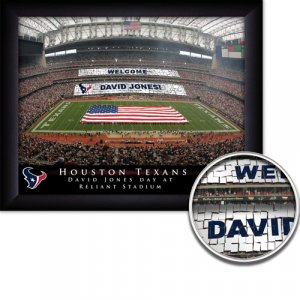 Houston Texans Stadium Print With Your Name