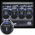 Los Angeles Kings Framed Custom Jersey Print With Your Name