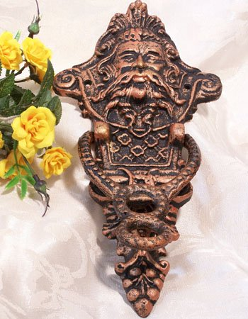 Cast Iron Northwind Doorknocker