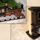 Cast Iron Locomotive Doorstop