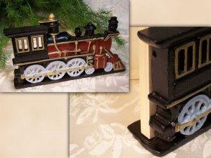 Cast Iron Locomotive Doorstop