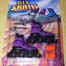 Finger Skates Inline Rollerblades Purple - NIP