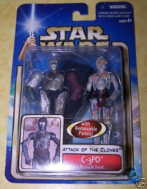 Star Wars Attack of the Clones C-3PO - NEW