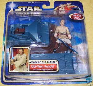 Star Wars Attack of the Clones Obi-Wan Kenobi - NEW