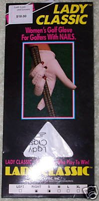 Lady Classic Women's Golf Glove RH XL- NEW