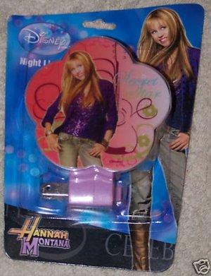 Hannah Montana Miley Cyrus Night Light With Bulb NEW