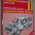 Haynes Caravan Voyager 1984-1991 Repair Manual