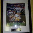 Brett Favre 300th Touchdown Throws Framed Matted Photo